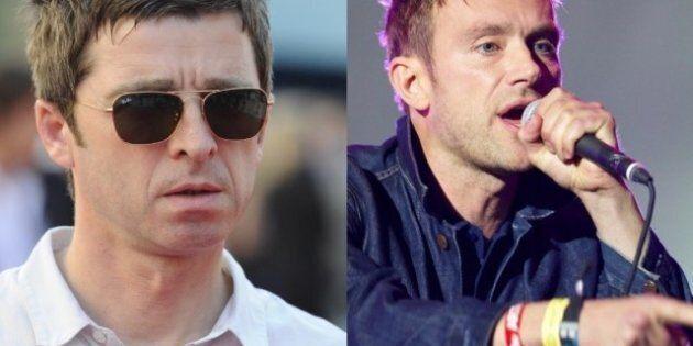 Oasis vs Blur : Noel Gallagher aimerait travailler avec Damon