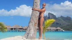 Heidi Klum a (encore) enlevé le haut