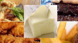 Sept aliments sont plus gras qu'une motte de beurre