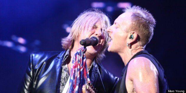 Def Leppard et Foreigner au FEQ : une soirée rock comme dans le temps