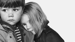 Burberry: une campagne pour enfants mignonne comme