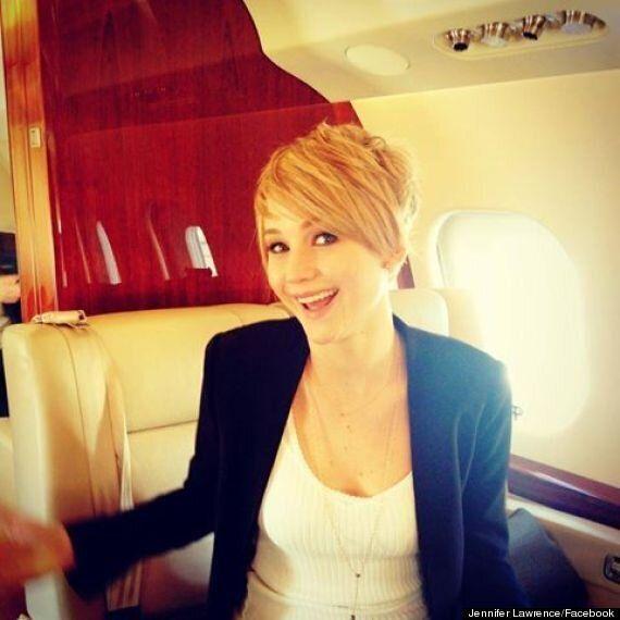 Jennifer Lawrence s'offre une coupe à la garçonne