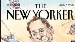 Anthony Weiner: La superbe couverture du New Yorker