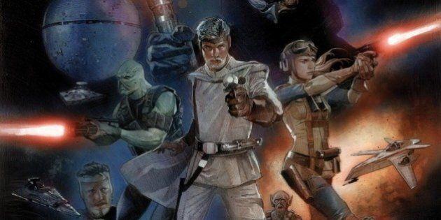 Stars Wars: les personnages en BD comme Georges Lucas les avait imaginés au