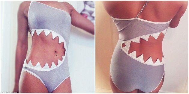 Le sharkini, ou l'improbable maillot de bain requin