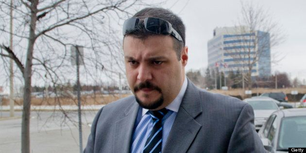 December 22, 2010-Cst. Babak Andalib-Goortani appears at SIU headquarters in Mississauga, he has been...