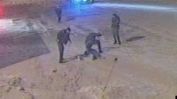 Alexis Vadeboncoeur : les 4 policiers suspendus sans