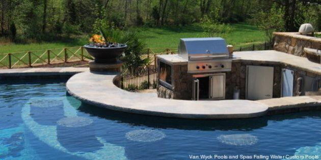 Les bars de piscine qui font rêver