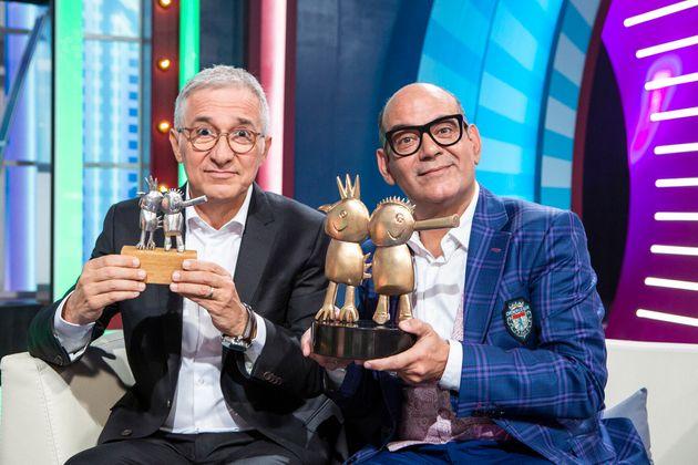 Xavier Sardá y José Corbacho en una imagen promocional de 'Juego de