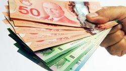 Les Canadiens sont de plus en plus riches...et