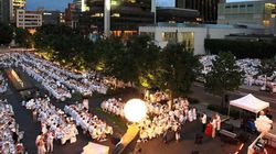 Le Dîner en blanc de Montréal a lieu ce soir!