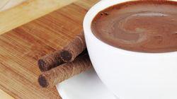 Avec l'âge, le chocolat chaud serait bon pour le