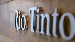 Le bénéfice net de Rio Tinto a dégringolé durant la première moitié de
