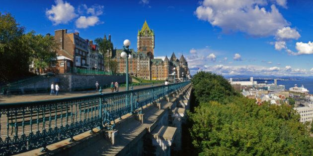 Terrasse Dufferin, Chateau Frontenac, Quebec