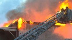 Incendie majeur à