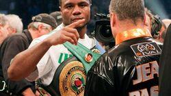 Le boxeur Jean Pascal