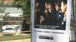Des affiches controversées sur les agressions sexuelles circulent à
