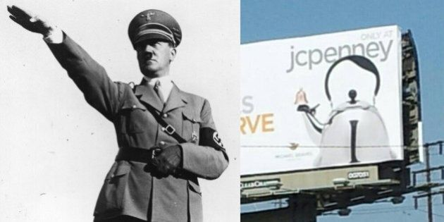 Une théière en forme d'Hitler: la publicité qui agite les réseaux