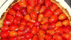 Recette du week-end: tarte aux fraises sur lit de