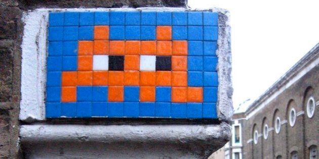 L'artiste français de «street art» Space Invader a été