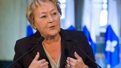 Pauline Marois nie avoir discuté des affaires de son mari avec Michel