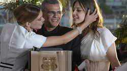 La Palme d'or à une passion brûlante entre deux jeunes femmes