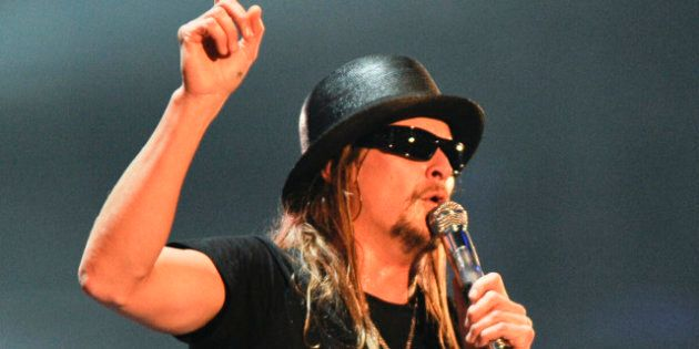 NORFOLK, VA - DECEMBER 09: Kid Rock performs during the 10th anniversary of WWE Tribute to the Troops...