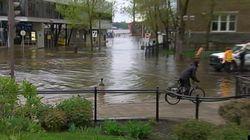 Le niveau d'eau baisse dans plusieurs villes de l'est du