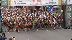Temps record au marathon