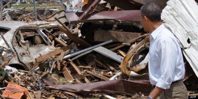 Obama assure les victimes de la tornade du soutien de