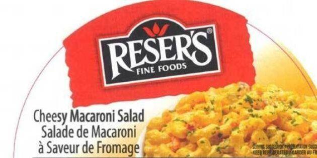 L'ACIA ajoute d'autres produits de salade au rappel sur la