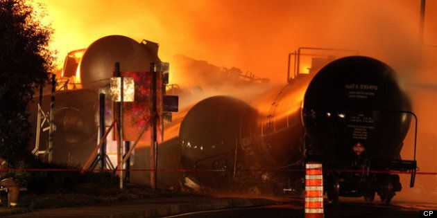 Accident de train de Lac-Mégantic: la tragédie heure par