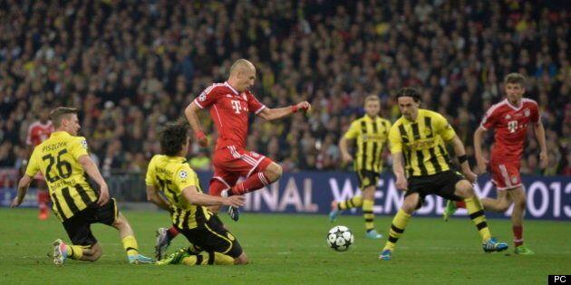 Le Bayern Munich triomphe devant le Borussia en Ligue des champions