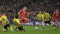 Le Bayern Munich triomphe devant le Borussia