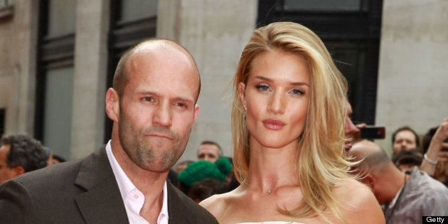LONDON, UNITED KINGDOM - JUNE 17: Jason Statham and Rosie Huntington-Whiteley attend the UK Premiere...