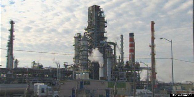 Transport de pétrole par train : le projet de la raffinerie de Lévis inquiète Nature