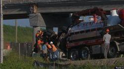 L'autoroute 15 nord rouverte après un