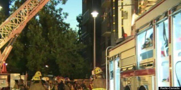 Une centaine de personnes âgées évacuées dans l'arrondissement
