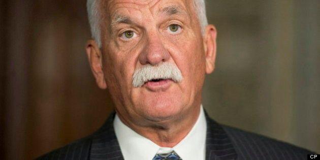 Le ministre fédéral de la Sécurité publique, Vic Toews,