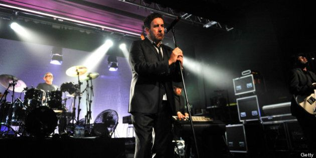 SHEFFIELD, UNITED KINGDOM - MAY 16: Terry Hall of The Specials perform on stage at O2 Academy on May...