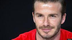David Beckham comme vous ne l'avez jamais vu...