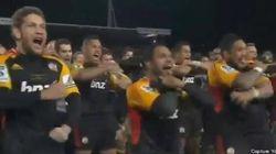 Le haka très intimidant d'une équipe néo-zélandaise