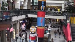 Recyclage : Le Centre Eaton érige des totems de piles pour sensibiliser ses