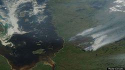 Une dizaine de feux de forêt ravagent le Nord du