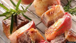 La recette du week-end: les brochettes de canard aux