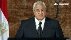 Égypte : premier discours du président intérimaire entre espoir et