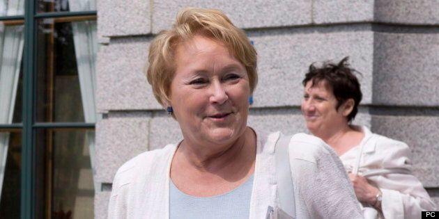 Mairie de Montréal: Pauline Marois se réjouit du calibre des