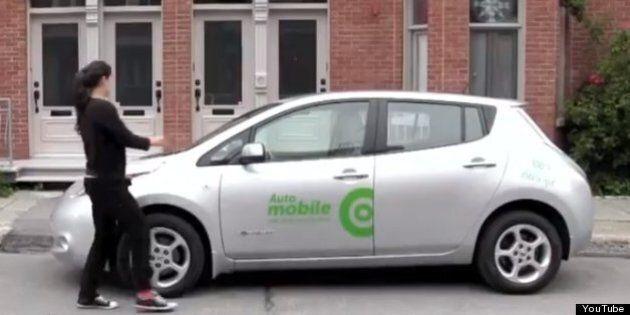 Communauto: La voiture électrique en libre-service est offerte à une nouvelle