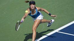TENNIS: Stéphanie Dubois et Eugenie Bouchard gagnent en
