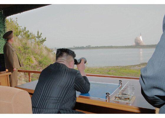 북한이 쏜 것은 미사일인가